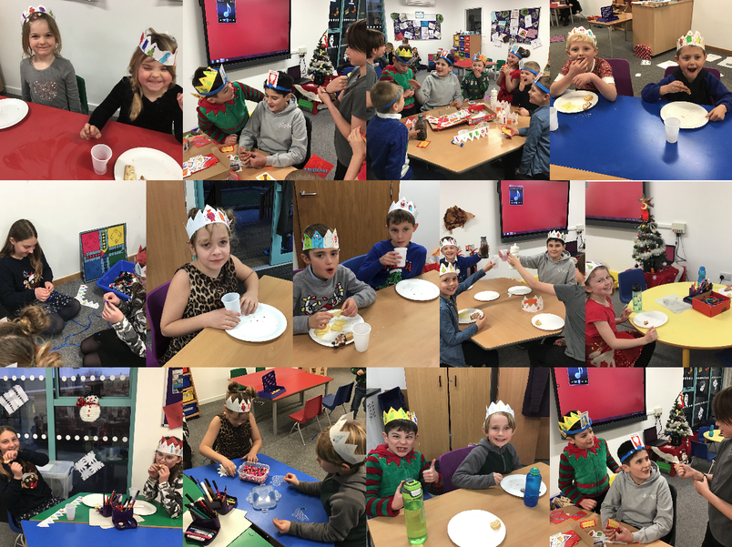 We all had a wonderful time at the hedges Christmas party!