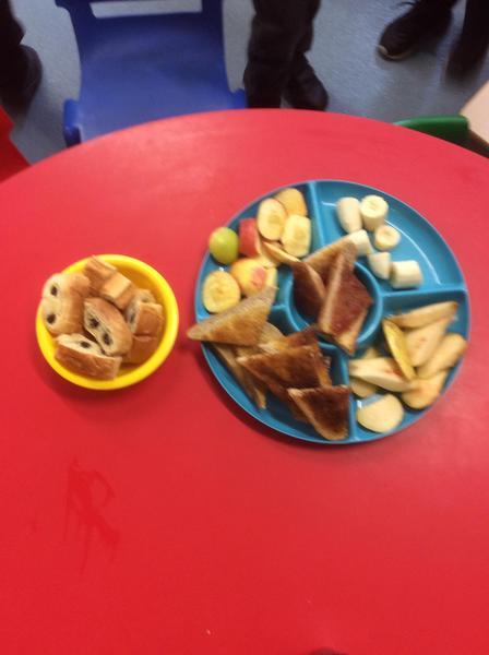 A sample of breakfast