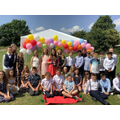 Y6 Class of 2021. Garden Party