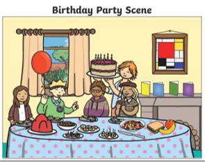 Birthday Party Scene
