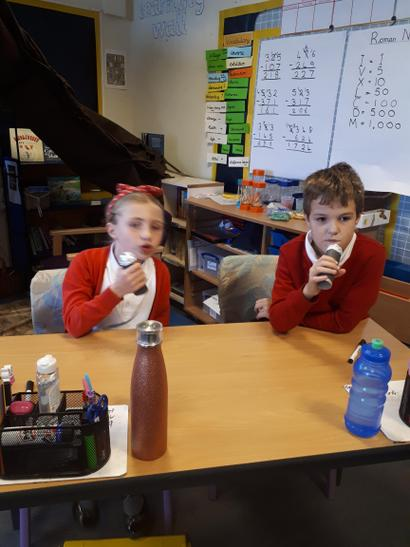 We became commentators to help us with our writing. Having a microphone helped.