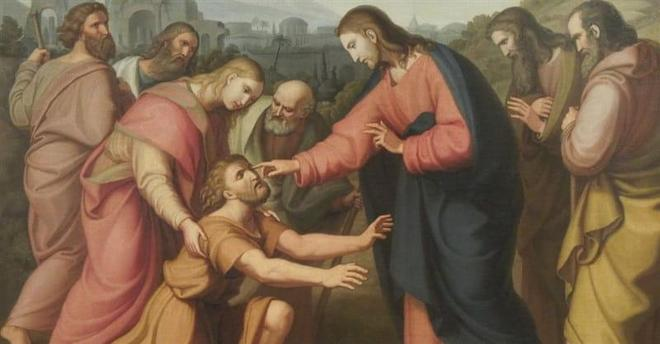 The Blind Man of Bethsaida