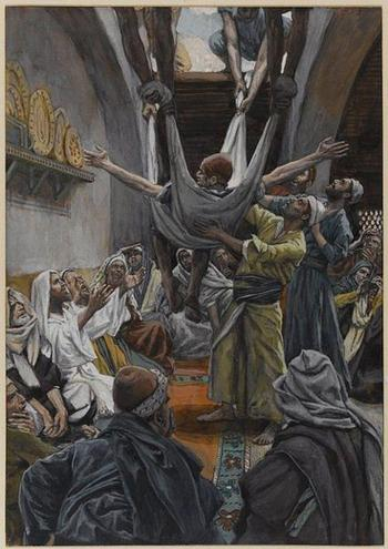 Healing the paralytic at Capernaum