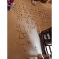 Toby has been working on Roman Numerals
