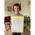 Super work with your English, Isaac!