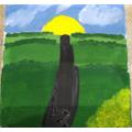 Daniel's delightful painting!