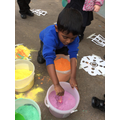 Making Rangoli Patterns