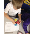 We've been investigating maths using resources