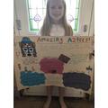 Elsie's Aztec Poster