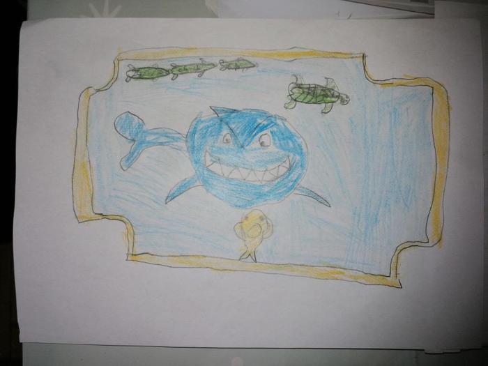 A ticket to Dexter's aquarium.