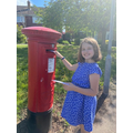 Natalie - letters to her Grandad who lives alone