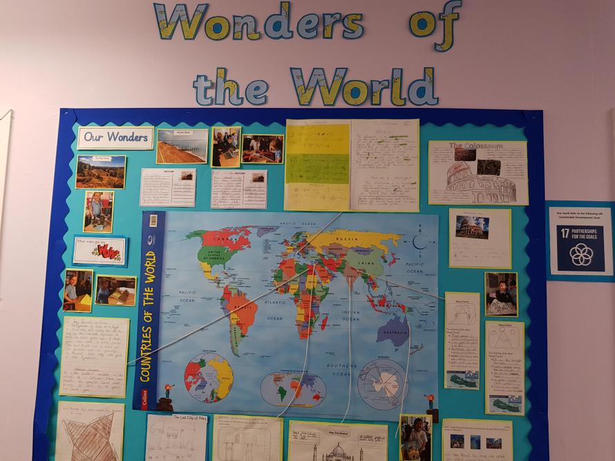 Year 1/2 found some amazing ancient wonders!