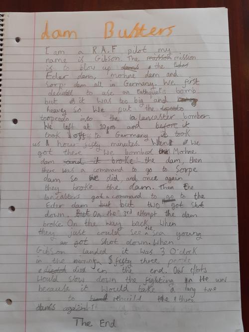 Bruno's Writing
