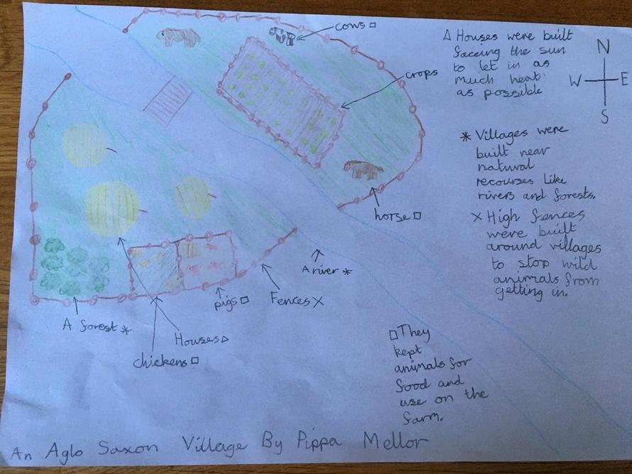 Pippa's Anglo-Saxon Learning