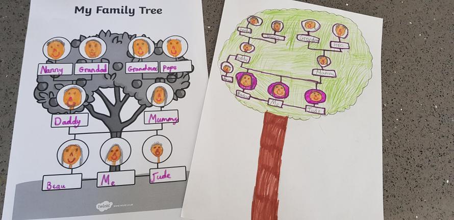 Maci's Family Tree