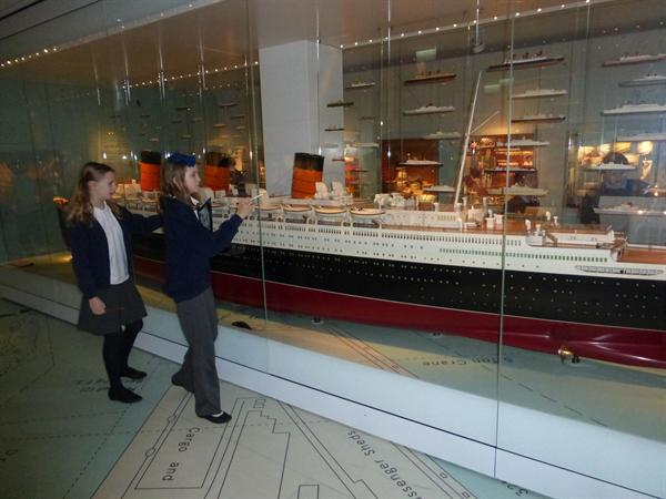 Up close and personal with the Titanic.