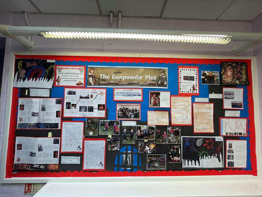 Year 1/2 learnt about Guy Fawkes and the Gun Powder Plot!