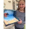 Minnie's ocean art project 5