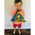 Mack's AMAZing Lego Yacht - So Cool!!