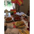 Toby's Spanish Dinner