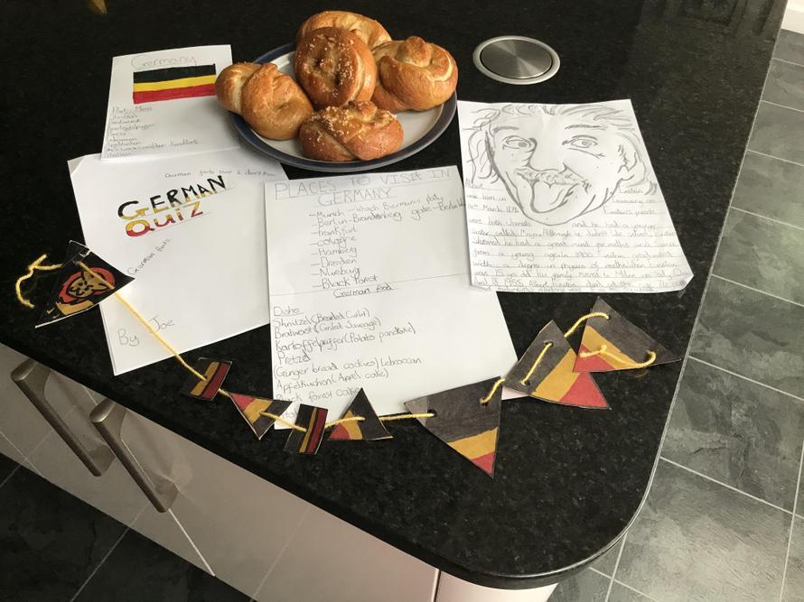 Joe's Germany project work