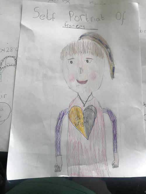 Frances - Self Portrait