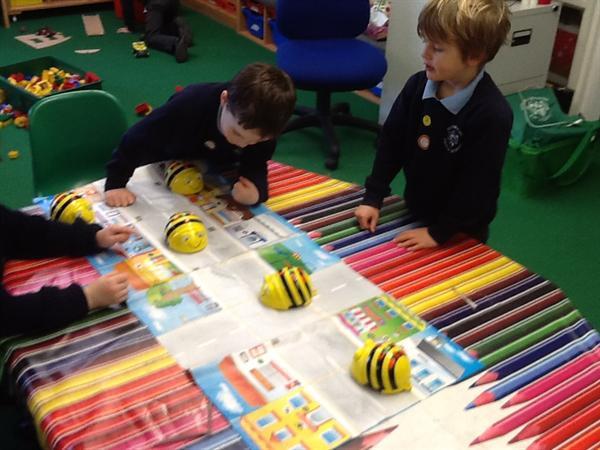 Exploring Bee Bots YR