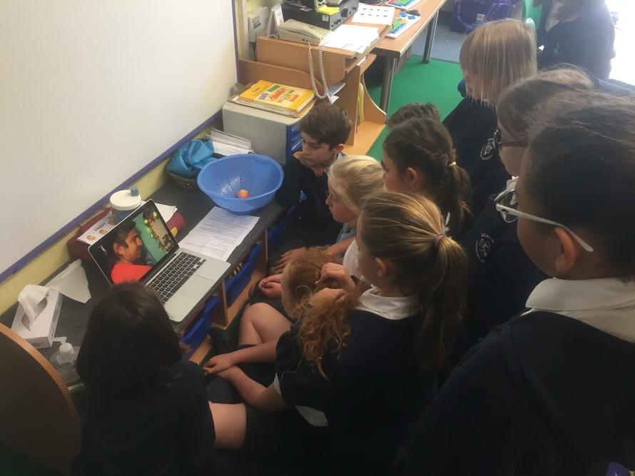 Learning about the festival of Tihar