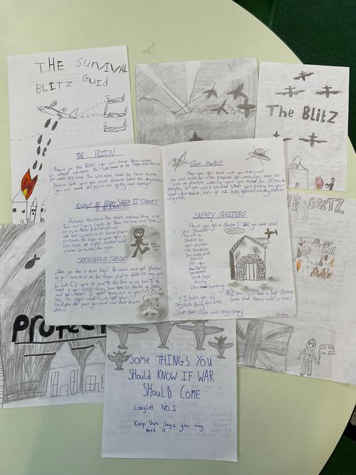 Year 5/6 have been learning all about WW2