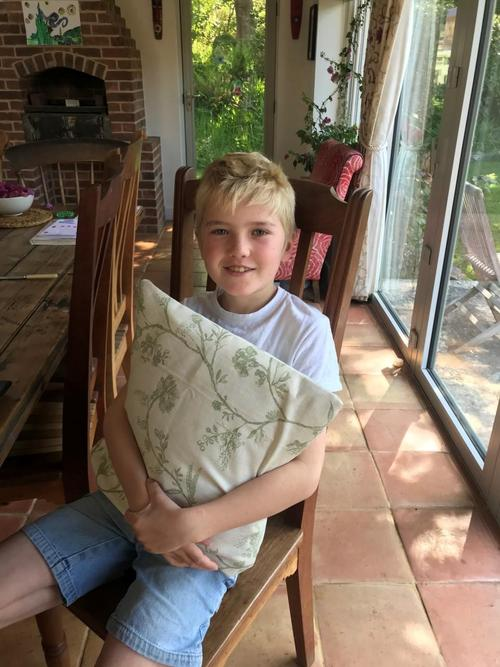 Rafe's recycled cushion project