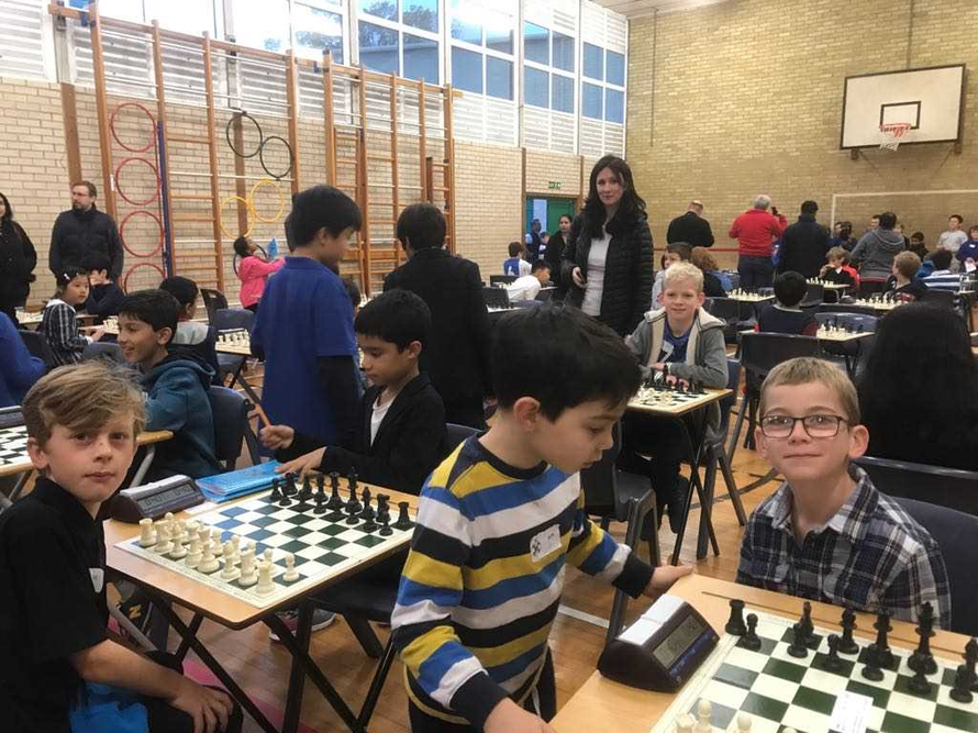 County Chess Wizards Patrick, Albie & Henry