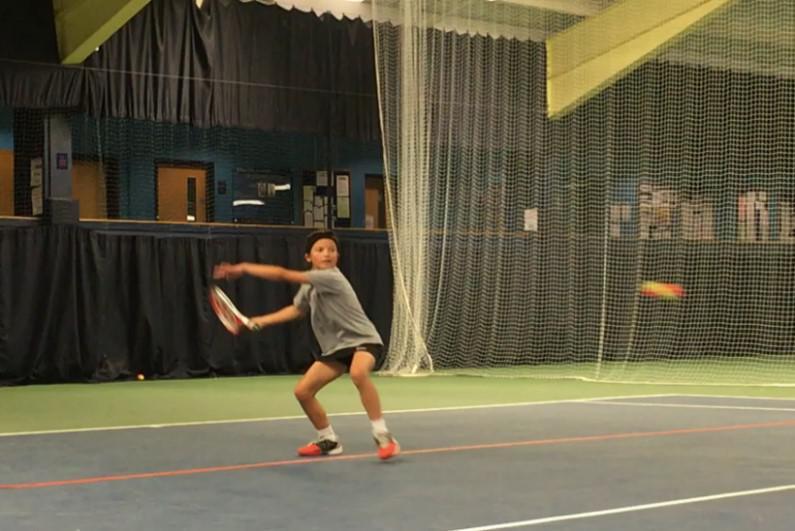 County Champion Tennis Star -  Maria