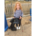 Violet even did a beach clean this week!