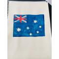 Mack's Aussie flag.