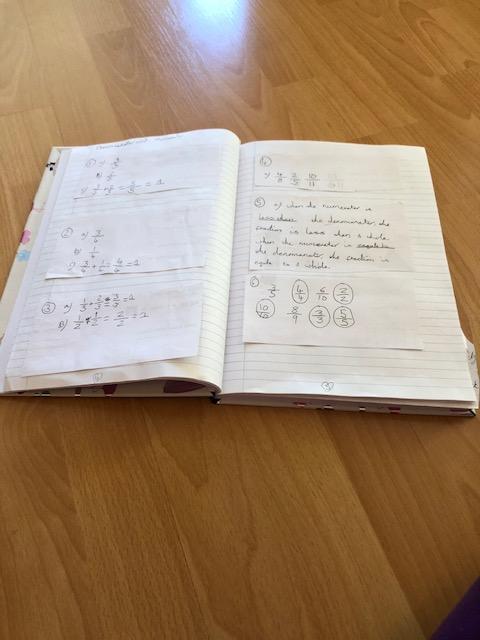 Isabella's Maths Work