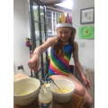Carnival style cooking!
