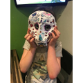 Day of the Dead Mask - superb work!
