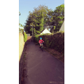 Archie is cycling 2.6 miles a day