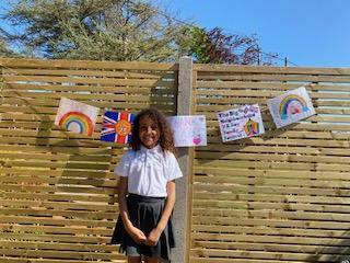 Millie's VE Day bunting