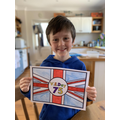 Joe's VE Day Flag