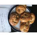 Joe's baked pretzels - yummy!