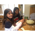 Zara & Saffron doing some Pakistani cooking