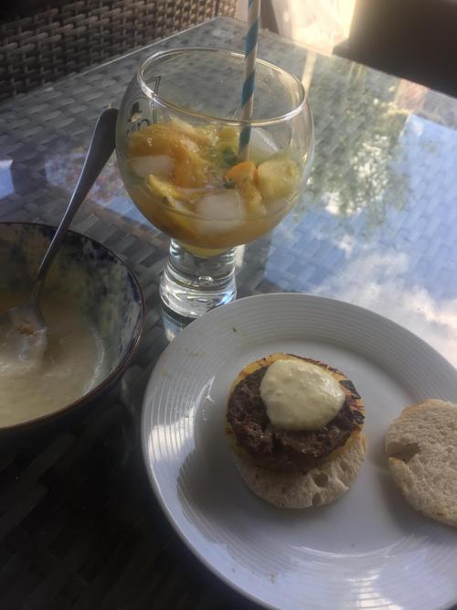 Flo's Brazilian meal -fab stuff!