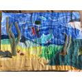 Rafe's detailed underwater collage