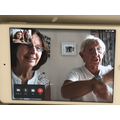 Facetiming Grandparents to find out about VE Day