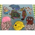Toby's Sea Animal Art