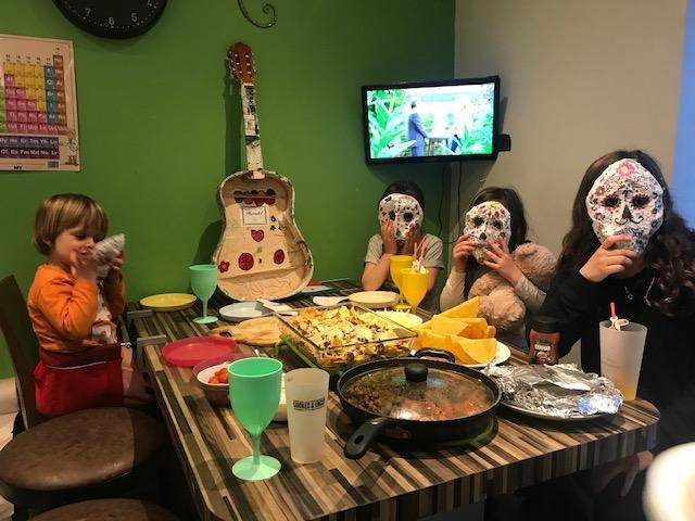 Mexican Night - looks like fun!