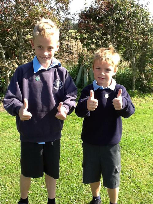 Harry and Charlie from Class 6