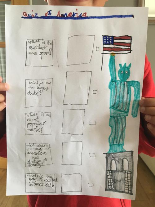 Isaac's Quiz of America