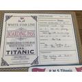 Hamish's terrific Titanic project 3